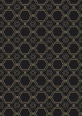 Seamless Art Deco Style Pattern — Stock Vector