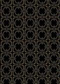 Seamless Art Deco Style Pattern — Stock Vector