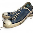 Old used and worn out sneakers — Stock Photo #2804732
