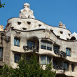 Casa Mila in Barcelona, Spain. Designed by Antoni Gaudi. — Stock Photo