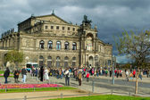 Semperoper Dresden House — Stock Photo