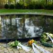 Memorial to the Sinti and Roma of Europe murdered under National Socialism in Berlin — Stock Photo