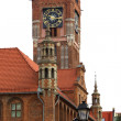 Old Town Hall in Torun — Stock Photo