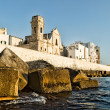 Fortified wall of Monopoli old town. Puglia. Italy. — Stock Photo #50623399