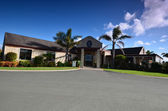 Wine estate Estate Winery Soljans. Landscape. Auckland. New Zeal — Stock Photo