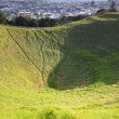 Mount Eden Mount. Oakland. New Zealand. — Stock Photo