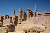 The ruins of the temple of Karnak. Luxor. Egypt. — Stock fotografie