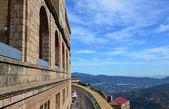 Montserrat monastery (monastery of Montserrat)Arca. Hispaniae. — Zdjęcie stockowe
