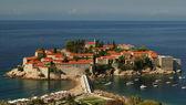 Sacred Stephane's (Montenegro) island — Stock Photo