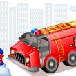 fire truck — Stock Vector