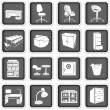 Office furniture — Image vectorielle