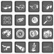 Optical icons — Stock Vector