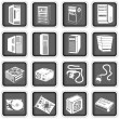 Computer icons 5 — Stock Vector