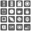 Time icons — Stock Vector #22000773