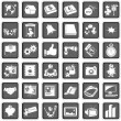 Portfolio icons — Stock Vector #23542497