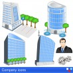 Company icons — Stock Vector #27860539