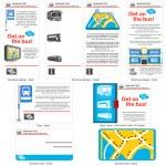 Bus travel template design — Stock Vector #27861115