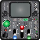 Retro control panel — Stock Vector