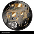 Circuit board — Vettoriali Stock