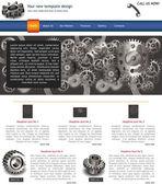 Website template 10 — Stock Vector