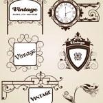 Elegance vintage frames for your text — Stock Vector #11429415
