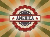 Alte americana-zeichen — Stockvektor
