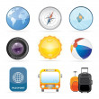 Stock Vector: Travel Icon Set 2