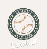 Baseball club emblem — Stock Vector
