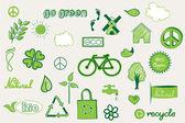 Green doodle — Stock Vector