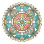 Doodle mandala — Stock Vector #18241493