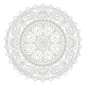 Mandala doodle — Stock Vector