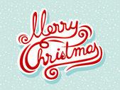 Letras de natal feliz — Vetorial Stock