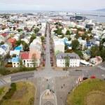 Panorama of Reykjavik, Iceland — Stock Photo