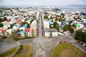 Panorama of Reykjavik, Iceland — Stock Photo