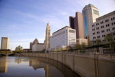 Columbus, Ohio Skyline — Stock Photo