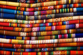 Otavalo Blankets — Stock Photo