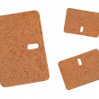 Cork Board Heat Mats — Stock Photo