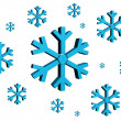 snow flake — Stock Photo
