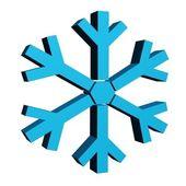 Sneeuwvlok — Stockfoto