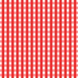 Checkered Tablecloth — Zdjęcie stockowe