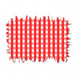 Foto de Stock  : Checkered Tablecloth