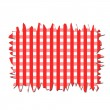 Checkered Tablecloth — Stock Photo #21708913
