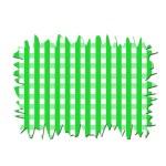 Checkered Tablecloth — Stock Photo