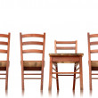 Stock Photo: Wooden Chair