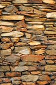 Stone Feature Wall — Stock Photo