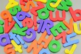 Magnetic Letters — Stock Photo