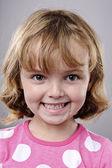 Happy smiling portrait — Stock Photo