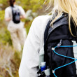 Stock Photo: Female exploring