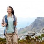 Joyful hiker — Stock Photo #28382115