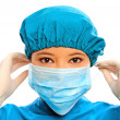 Close up of medical professional — Stock Photo